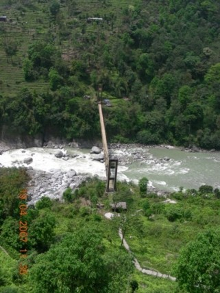 A view of the Teesta