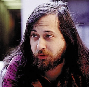 Richard Stallman - The Prophet for Freedom in content!